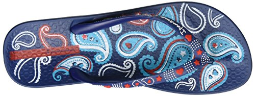 Ipanema Damen Anat Lovely Vii Fem Zehentrenner Mehrfarbig (blue/blue/orange)