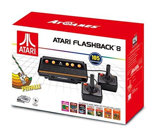 Console Retro Atari Flashback 8 + 105 jeux – édition 2017-2018
