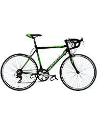 Vélo de course 26'' Elite noir-vert TC 53 cm