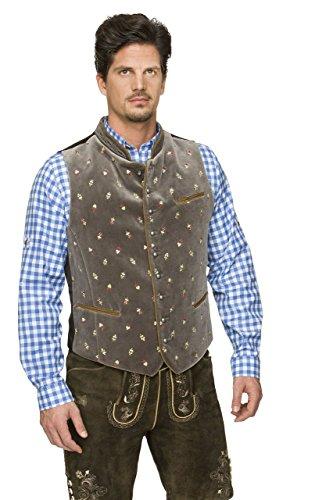 Stockerpoint - Herren Trachten Weste in verschiedenen Farbtönen, Calzado, Größe:50, Farbe:Stein - 3