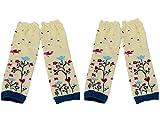 BONAMART ® 2 Paar Baby Mädchen Jungen Kleinkinder Stulpen Leggings Leg Wearmers