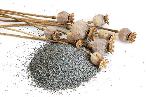 1 kg de semillas de amapola natural