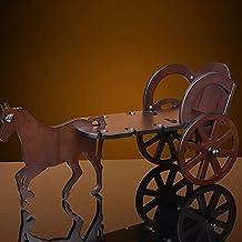 HBA Especieros de Madera Simple y Moderna casa Armario Bodega Ornamentos Portavasos de Madera Vaso de
