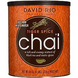 David Rio - Tiger Spice Chai, Pappwickeldose (1 x 1.814 kg)
