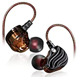 #6: QKZ KD4 Dual Driver Extra Bass in-Ear Wired Headphones/Earphones/Earbuds with Microphone (Black) || [[New Release]]