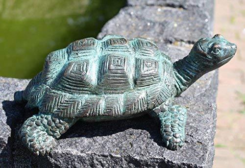 H. Packmor GmbH kleine Schildkröte aus Bronze