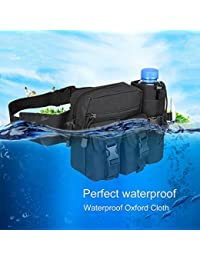 Outdoor Sports Waist Bag Waterproof Pouch Waist Pack Camping Hiking Cycling - B07GC36N7D