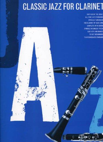 Classic Jazz For Clarinet (Album): Noten für Klarinette (Sopran solo)