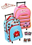 BIG bobby-car kindertrolley kindertrolley bobbycar teleskopzugstange rose ou bleu avec dimensions : 27,0 x 36,0 x 15,0 cm