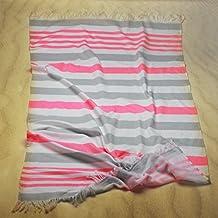 Burrito Blanco - Toalla pareo 168 de 90x165 cm, color rosa