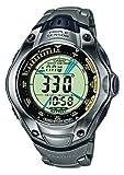 Casio U 251 - Reloj Digital Unisex de Cuarzo con Correa de Titanio Plateada (altímetro, Solar,...