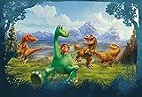 Fototapete Bildtapete DINOSAURIER, 368 x 254 cm, Disney Kindertapete, Kinderzimmer