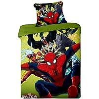 Jerry Fabrics JF0116Bedding Spiderman 2015Micro 1x coperta piumino e federa, 100% poliestere micro Fiber, 140x 200/70x 90cm