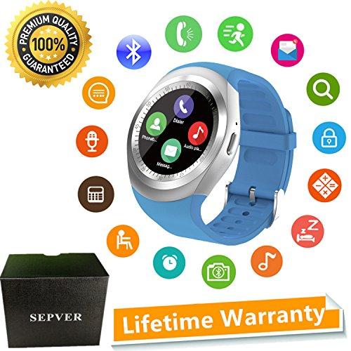 SEPVER Reloj Inteligente Sn05 Redondo Smartwatch