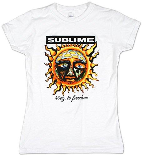 LYYJY Sublime - 40 Oz To Juniors T-Shirt (Sublime Juniors T-shirt)