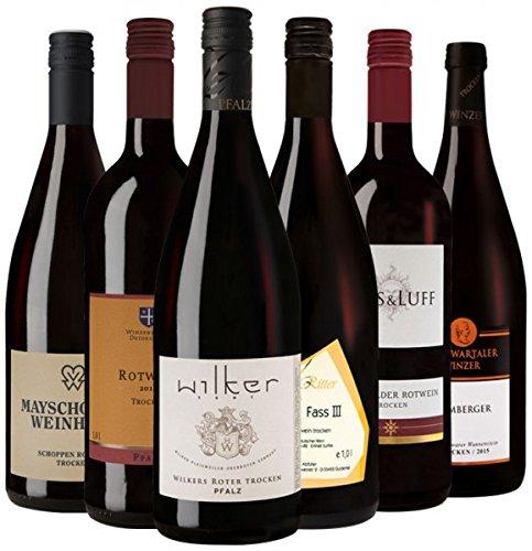 Literwein-Paket Rotwein 3.0 Trocken (6x1.0 l)