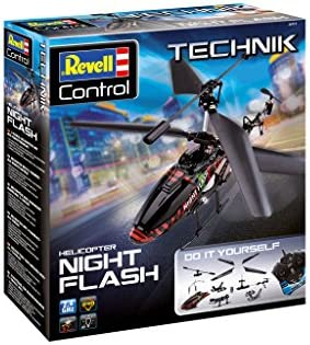 Revell Control Hélicoptère à Construire Night Flash, 24711 | Outlet Online Store