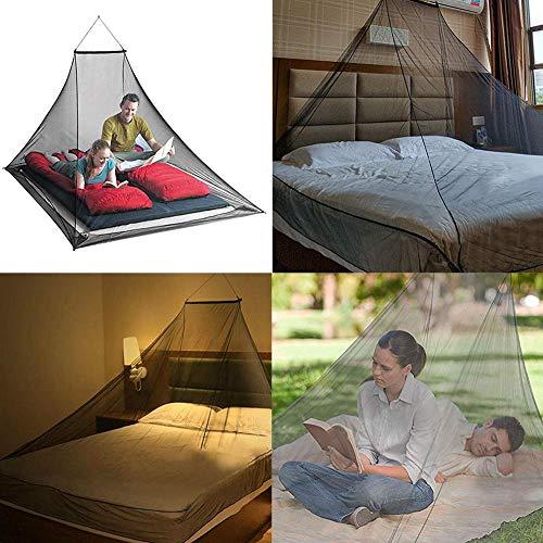 Aeronutic zanzariera letto matrimoniale viaggio per 2 persone tenda a rete ultraleggera portatile, per escursioni campeggio