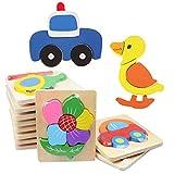 #6: Zibuyu Wooden Blocks Kid Child Cartoon Animal Design Puzzle Game Educational Toy