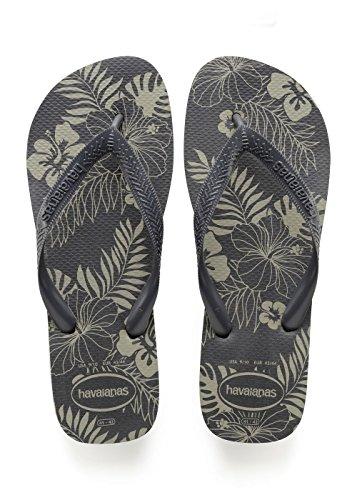Havaianas-Aloha-Chanclas-Hombre-Gris-New-Graphite-3940-EU-3738-BR