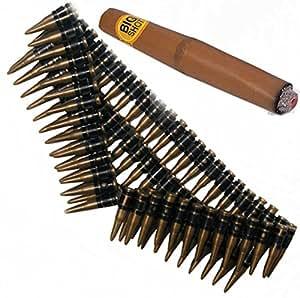 Bristol Novelties Ceinture de munitions, et Cigar. Rambo, terminaison mexicain de déguisement