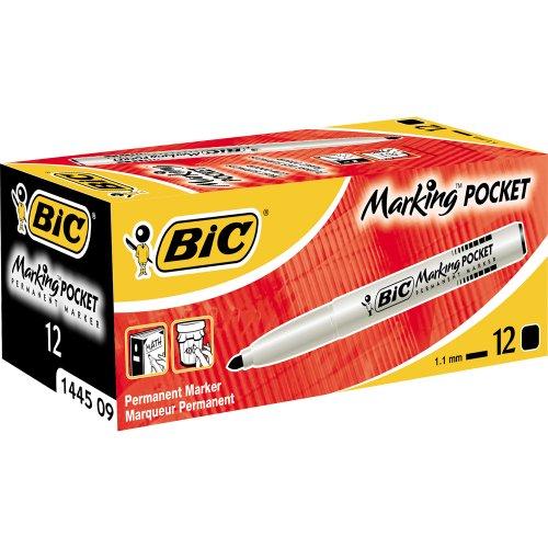 bic-marqueur-permanent-pointe-fine-ogive-corps-plastique-encre-a-base-dalcool-noir-lot-de-12
