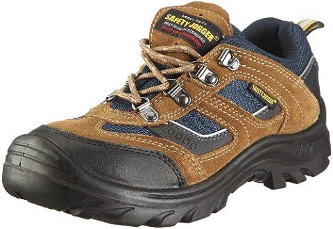 Safety Jogger X2020P, Unisex - Erwachsene Arbeits & Sicherheitsschuhe S3, braun, (blk/brn/navy 10A), EU 47
