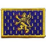 Écusson brodé Flag Patch France Franche-Comté - 8 x 6 cm