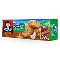 Quaker Oat Cookies with Apple & Cinnamon, 126g, Family Pack