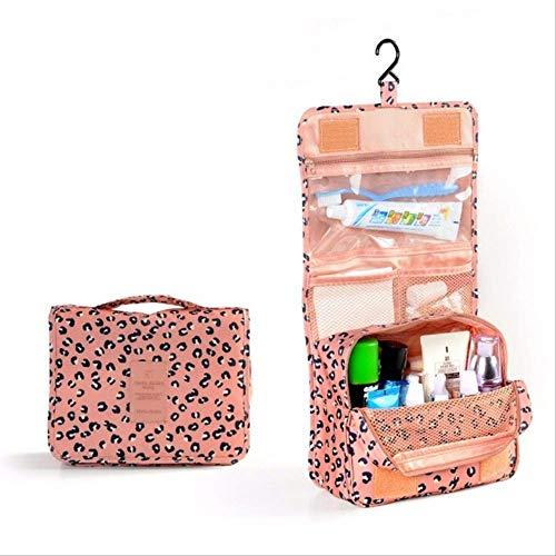 Pacchetto Wbdd Travel Foldable Cosmetic Organizer Portable Wash rosa