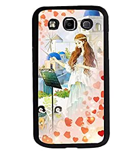 Fuson 2D Printed Girly Designer back case cover for Samsung Galaxy E7 - D4548