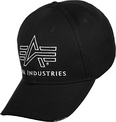 Alpha Industries Herren Caps / Snapback Cap Big A Classic schwarz Adjustable