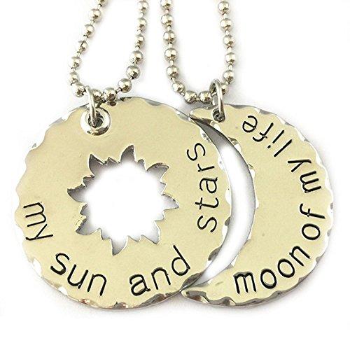 Game of Thrones Sonne/Mond 2Pack Logo 45,7cm Halskette in Geschenkbox von J & C Family OWNED (Cyborg Kostüm Für Männer)