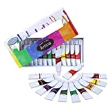 Artina Colaro Aquarellfarben Set 12x12ml Aquarell Farben Künstlerfarben, Farb-Set für Hobby-Künstler & Malprofis