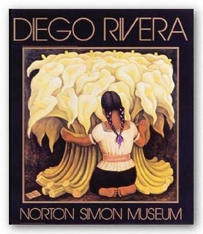 The Flower Vendor, 1941 de Diego Rivera Tirages d'Art Poster