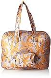 Oilily Damen Enjoy Travelbag Shz Stoff-und Strandtasche, Orange, 21.5x36x48 cm