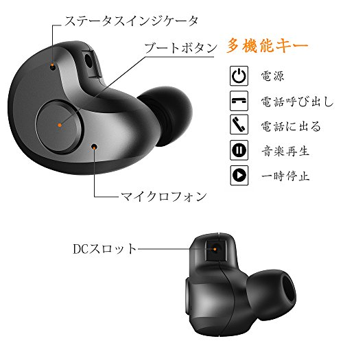 Bluetooth Headset, AngLink 0.13oz Only V4.1 Mini Bluetooth Earpiece Wireless Earpiece In-ear