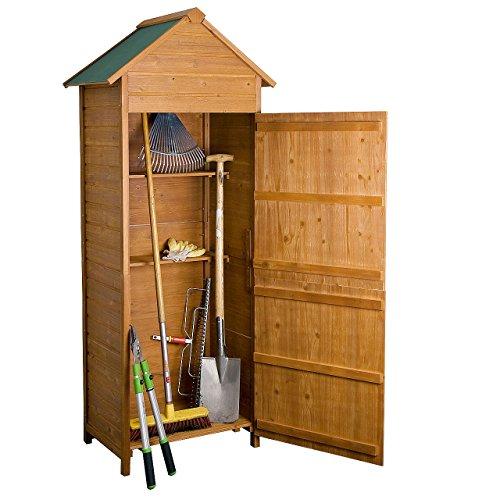 Preisvergleich Produktbild Rotfuchs® Geräteschuppen Gerätehaus Geräteschrank Holz GTS01