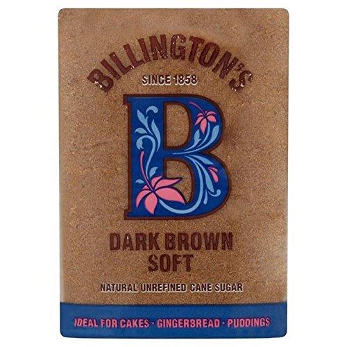 Billington Der Dunkelbraune Weicher Zucker 500 G (Packung mit 4)