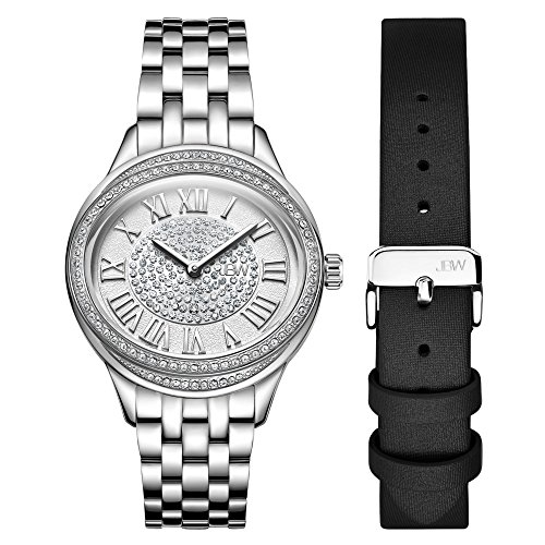 JBW Women's Plaza Oval Diamond Watch & Band Set J6366A