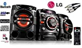 LG Mini HiFi System CM4360 (SGBRLLK) - Multi Bluetooth Wireless Powerful 230W RMS