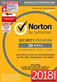 Norton Security Premium 2018 | 10 Geräte | 1 Jahr | Windows/Mac/Android/iOS | Download