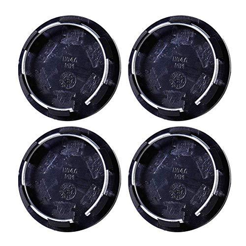 4pcs cuscinetto Center Hub, schermo di ricambio 50mm cuscinetti mozzo ruota centrale RIM Hub Caps Covers Copricerchio pneumatico Trim auto