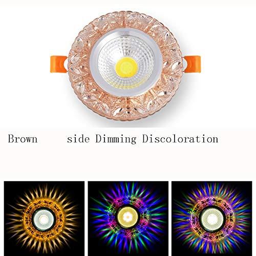 WETRR Moderne Kristalldecke Beleuchtung, Flush Mount Ceiling Licht, Modern Chandelier Lighting Fixture für Schlafzimmer, Hallway, Bar, Küche, Bad,4 -