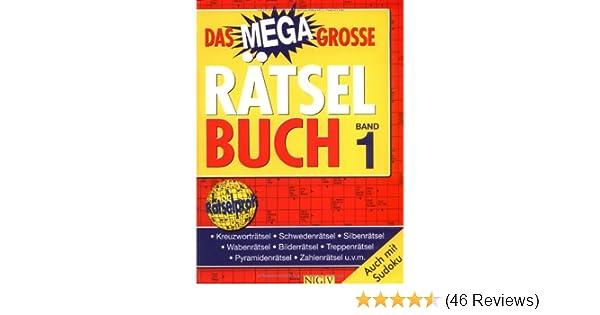 Das Megagroße Rätselbuch Band 1 Amazonde Bücher