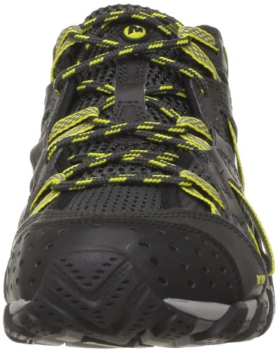 Merrell J41493, Chaussures basses homme CARBON/E. YELLOW
