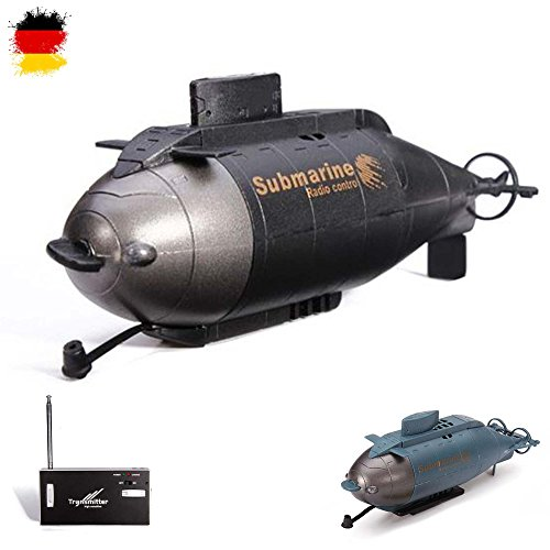 HSP Himoto RC ferngesteuertes Mini U-Boot, Komplett-Set inkl. integr. Akku, Ladegerät, Fernsteuerung*