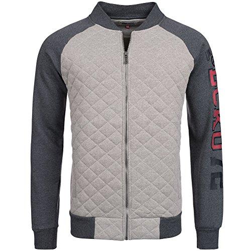 ecko-unltd-iveco-zip-quilt-veste-pour-homme-gris-fonce-s-gris-clair