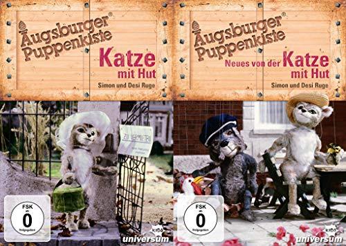 Katze mit Hut + Neues von der Katze mit Hut - Augsburger Puppenkiste im Set (2 DVDs)