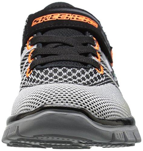 Skechers Flex Advantagemaster Mind, Baskets Basses garçon Black/Grey